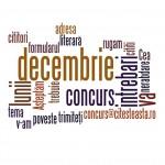 Concurs literar decembrie