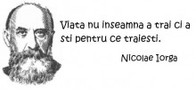 Citata viata - Nicolae Iorga