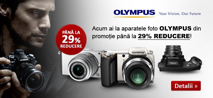 Aparate Foto Olympus evoMAG reducere, cupon, voucher