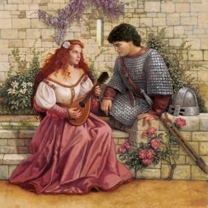 cavalerul Lancelot si domnita Guinevere